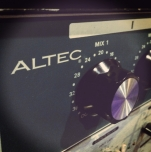 Vintage Altec mic Preamp
