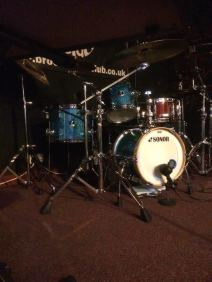 A drum kit.... one of many