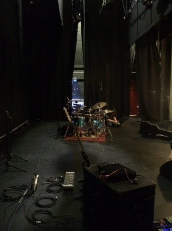 Backstage at The Epstein Theatre, Liverpool