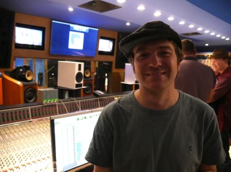 Session at Abbey Road Studio 3