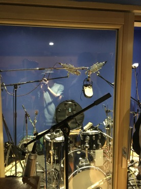 Drumkit ar Abbey Road Studio 3