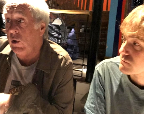 Pizza with John Leckie (Radiohead/Pink Floyd/Stone Roses)
